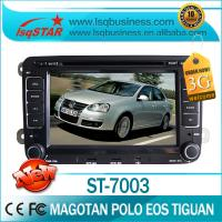 Quality Volkswagen DVD GPS With Radio / Bluetooth / Smart TV / IPOD For Magotan Polo Eos TIguan ST-7003 for sale