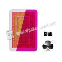 Quality NTP Kizilay Standard Red Cheat Playing Cards Marked Cards for sale