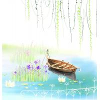 Quality Cartoon Style Bamboo Fiber Board Decorative Wall Panels For Living Room for sale