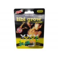 China 3D Libigrow Herbal Sex Pills 24pills / Box Stoping Premature Ejaculation on sale