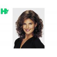 Quality No Lace Synthetic Hair Wigs Heat Resistant Fiber Curly Wave For Women for sale