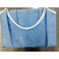 Quality EO Sterile Disposable Medical Gowns Waterproof For Clinic / Hospital Protection for sale
