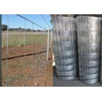 Quality Cattle Farming Fence / Hot-Dipped Filed Wire Mesh Fence For Poultry for sale