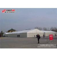 Quality White Outdoor Display Tents For Trade Shows Temporary Exhibition Structures for sale