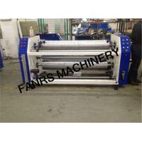 Buy Tension Control Non Woven Fabrics Film Rewinding Machine With Perforating Setting System at wholesale prices