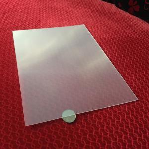Quality Transparent  3D lens 51X71CM 0.25MM PET Lenticular Film 3d sheet lenticular lens for UV offset 3d lenticular printing for sale