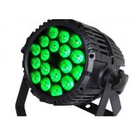 Quality 18*10W RGBW 4in1 LED Stage Par Lights LED Rainbow Effect With Flicker Free for sale