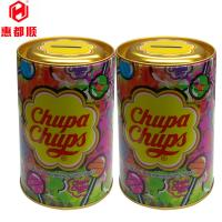 Quality Cute Round Yellow Metal Bank Money Tin Box for Save Coin for sale