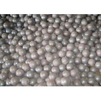 Quality Grade GCr15 Forged Steel Ball 16mm Forged Grinding Balls For Mining / Cement for sale