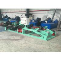 Quality Twisted Barbed Wire Making Machine Horizontal Design With PVC Coated Wire Materials for sale