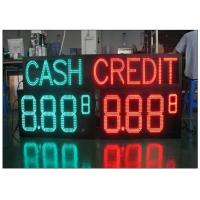 Quality Multiple size waterproof LED Gas Station Sign with Rear / Front Access , Single / Double Side for sale