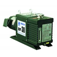 Quality 8 L/s Two Stage Rotary Vane Vacuum Pump , BSV30 Green Oil Sealed Rotary Pump for sale