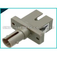 Quality ST To SC Fiber Adapter , Simplex Fiber Optical Adapter 2N - 5.9N Receptacle Retentionforce for sale