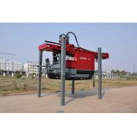 Quality DTH Drilling Water Well Drilling Rig Mounted on Truck With Maximum hoist capacity 20 tone for sale