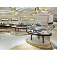Buy shopping mall high end jewelry shop display showcase with led at wholesale prices