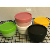 Quality Wide mouth plastic jar for cosmetic cream hair care cream jar 50g 100g 200g  face mask plastic bottle for sale