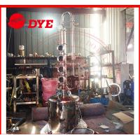 Quality 100L Home Distilling Equipment , Copper Moonshine Still For Alcohol Making for sale