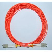 Quality LC-LC MM 62.5/125 Duplex 2.0MM 1M Fiber Optic Patch Cord for sale