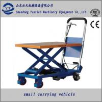 Quality Manuel hydraulic scissor lift table for supermarket for sale