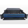 Buy cheap Sliding Type 2U Fiber Optic Patch Panel Durable SC Optical Fiber Distribution from wholesalers