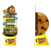 Quality 3D Chips More Paper Display Standee,Food Floor Displays Standees for sale