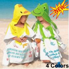 Buy cheap Baby Kid Child Toddler Soft Cotton Cartoon Animal Bathrobe Bath Towel Bath Beach from wholesalers