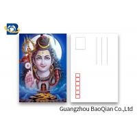 Quality Customized 5D Effect 3D Lenticular Postcards 157g Coated Paper 5D Effect for sale