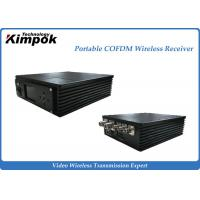 Buy Miniature COFDM Receiver 300-800MHz Portbale Wireless AV Receiver at wholesale prices