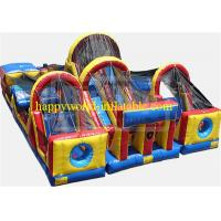 Buy cheap adrenaline rush obstacle course , inflatable obstacle course , inflatable playground from wholesalers