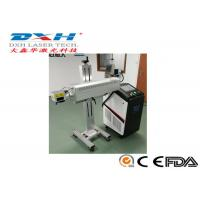 Quality Aluminum Structure Automatic Laser Marking Machine For Outer Of Food Packaging for sale