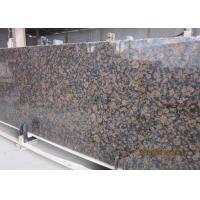 Buy cheap Baltic Brown Granite stone slabs for indoor and outdoor stone flooring from wholesalers