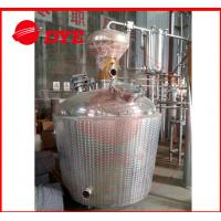 Quality Custom Craft Copper Distillation Column For 90% Alcohol Concentration for sale