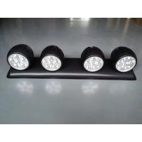 Quality 120W LED roof mounted spotlight with 4 Lights, Off Road 4x4 Roof 4 Clear Fog Light Setup for sale