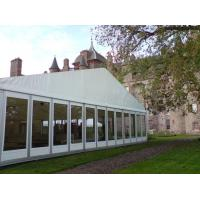 Quality Big Wedding Party 1000 People Glass Wall Tents With Decoration for sale