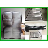 China Insulated Pallet Covers Reusable Thermal Insulation Covers For Goods Shipping on sale
