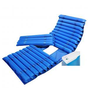 Buy cheap 5.0-5.5L/minute Air Output Anti Decubitus Mattress , Strip Alternating Air Mattress from wholesalers