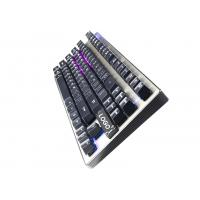 Buy 87 Keys illuminated Mechanical Gaming Keyboard anti ghosting USB interface at wholesale prices