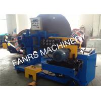 Quality Blue Spiral Tube Forming Machine With Forming Molds And Mitsubishi PLC for sale
