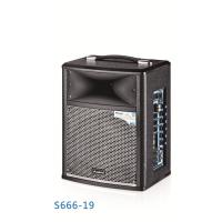Quality Wireless Portable Microphone Battery Powered Dj Speakers Pro Sound Pa System for sale