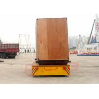 Quality 20 ton battery powered trackless transfer carriage on cement floor for sale