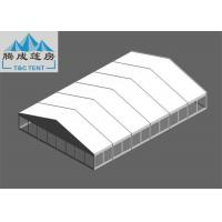 Quality 20x30m Snowproof  Flame Retardant White PVC Aluminium Alloy Tent With Clear/ Sandwich Wall For Celebration for sale