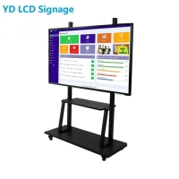 China Interactive Digital Signage Kiosk Indoor Whiteboard LCD Display Screen For Meeting Room Conference on sale
