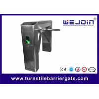 Quality Pedestrian Tripod Access Control System , Turnstile Gate With Card Reader Automatic for sale