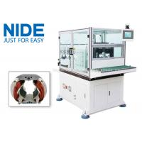 Quality Automatic Double Flyer Stator Winder / Electric Motor Winding Equipment for sale