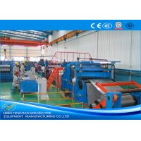 Quality Heavy Duty Stainless Steel Slitting Machine 90KW DC Motor Mill Speed 100m / Min for sale