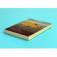 Quality A5 Novel Softcover Book Printing Services , Glossy Lamination Single Black Inner Page for sale