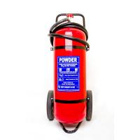 Quality Professional 50Kg Trolley Fire Extinguisher Safe / Reliable For Railway Station for sale