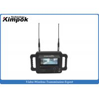 Quality Military Outdoor Wireless Video Receiver / Handheld COFDM Wireless Digital Receiver for sale