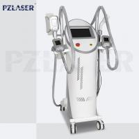 Quality 4 Handpieces Lipolysis Fat Freezing Machine Vacuum Cavitation System High Efficiency for sale