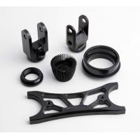 Quality Custom Black Anodized Aluminium CNC Machining small turned parts for sale